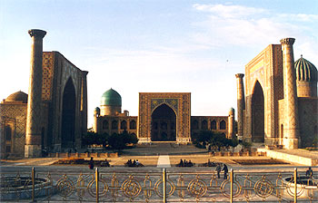 PLaza del Registán, Samarkanda